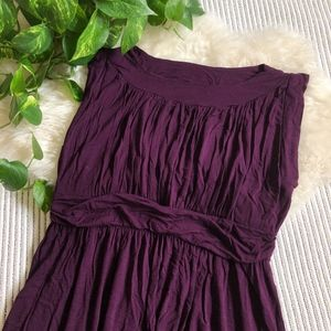 913af426fa8 ModCloth Dresses - ModCloth I Love Your Jersey Dress in Plum